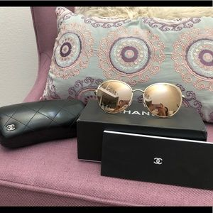 Chanel 14k Gold Limited Sunglasses